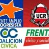 Reuniones entre el FAP, la UCR, la CC-ARI, el FCyS y UP