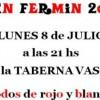 San Fermín en la Taberna