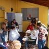 Alumnos del Curso de Peluquería estuvieron trabajando en el Hogar de Ancianos