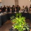 Bolinaga participó de un importante encuentro encabezado por Massa y De la Sota