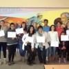 Los alumnos del Curso de Peluquería del CIC recibieron sus diplomas