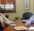 El intendente Giovanettoni recibió al electo Jefe Comunal Cecilio Salazar