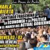 La Cámpora:  Charla abierta sobre economía con Santiago Fraschina