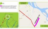 Ramallo: la Provincia repavimentará el acceso a Sánchez