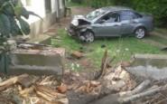 Accidente en Ruta 8 frente a AFA