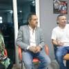 Scioli visitó Arrecifes y ofreció una conferencia de prensa