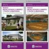 Olaeta presentó el proyecto del Microestadio municipal y de la Pileta Climatizada