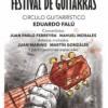 Festival de guitarras en los festejos del 25 de Mayo