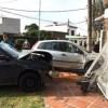 Accidente de tránsito en el mediodía del lunes