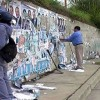 Comunicado de la Municipalidad sobre afiches y pintadas