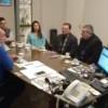 El intendente Olaeta recibió la visita del embajador de Nicaragua