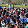 Una multitud en el Costanero en la Fiesta del Día del Niño