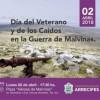 Acto en conmemoración al día del veterano y de los caídos en Malvinas