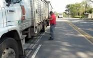 Control de peso de cargas de camiones en rutas provinciales