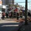 Derrumbe con heridos en Salto