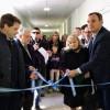 Olaeta inauguró el nuevo pabellón en el Hospital