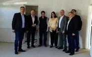 El ministro de Educación Gabriel Sanchez Zinny visitó el Jardín Maternal del Barrio 350 viviendas