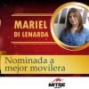 """Mariel Di Lenarda ternada para los Martín Fierro de la radio """"Esperemos que la tercera sea la vencida"""""""