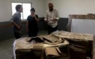 Muebles para las nuevas aulas de la Escuela Agraria