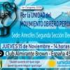 Unidad Ciudadana convoca a un plenario regional en Arrecifes