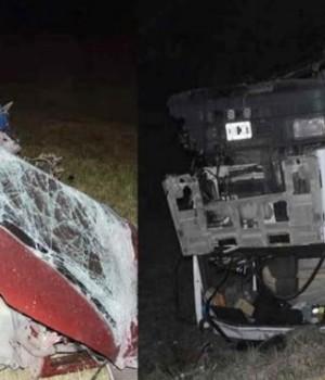 Accidente fatal en Ruta 8