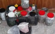 Allanamiento y detenciones por drogas