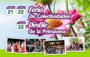 Fiesta de colectividades y de la Primavera el fin de semana