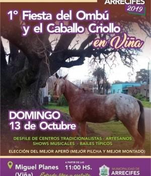 Este domingo en Viña, Fiesta del Ombú y el Caballo Criollo