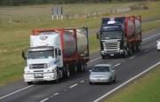 Restricción de circulación de camiones por el año nuevo