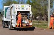 Recolección de residuos durante las fiestas de fin de año