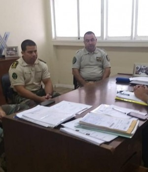 Reunión sobre seguridad rural