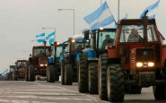 Nuevo tractorazo del campo, esta vez en San Nicolás