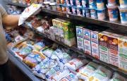 Pan a $ 50 y leche a $ 48,- un día por semana