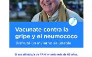 Vacuna antigripal. Las farmacias ya tienen fecha para su entrega a afiliados a PAMI