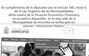 Situación Económica Financiera de la Municipalidad de Arrecifes