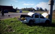Grave accidente sufrió el Dr. Modesto Martín en Ruta 8