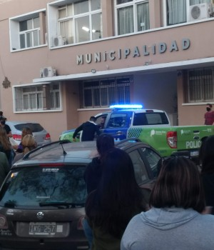 Segunda jornada de protesta policial en Arrecifes