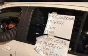 El reclamo policial se hizo sentir en Arrecifes