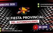 Fiesta Provincial del automovilismo: no se suspende por lluvia