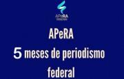 Cumple cinco meses la Asociación de Periodistas de la República Argentina