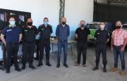 Taller de logística y mantenimiento de móviles policiales en Arrecifes