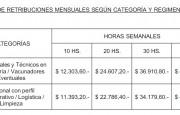 La Provincia pagará entre 11 y 49 mil pesos a quienes forman parte del operativo de vacunación