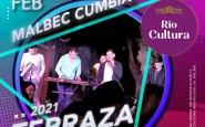 El sábado, Malbec Cumbia en «Terraza en vivo» al aire libre