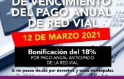 Se prorrogó el vencimiento del pago anual de las tasas municipales 2021