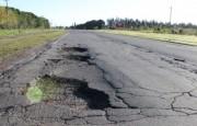 Reparan (¿?) la Ruta Provincial 191