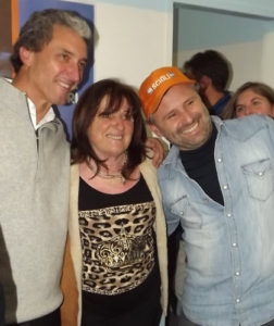 """Pepe"" Scioli, Tana y Marcos Di Palma"