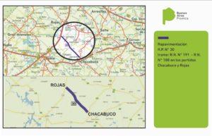 Ruta 30 Chacabuco - Rojas